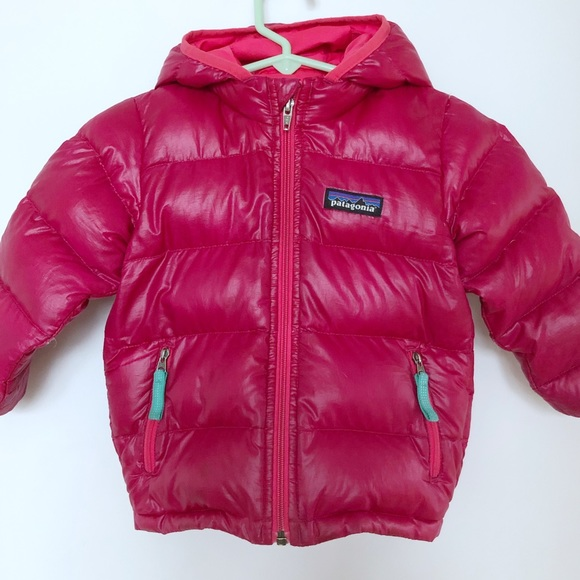 81f7c9d35 Patagonia baby shiny pink puffer jacket